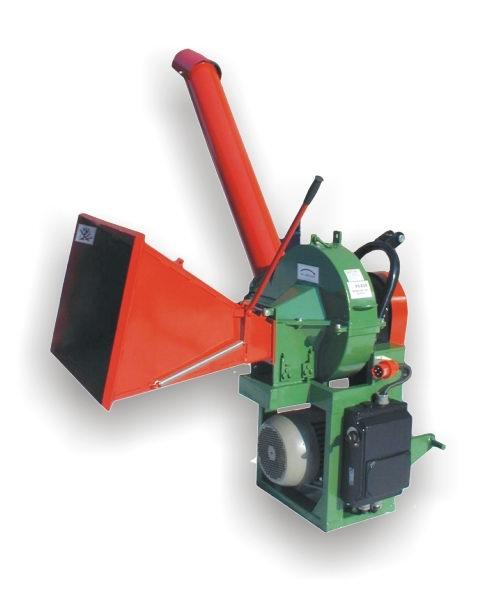 Drtič větví PIRBA s elektromotorem 15 kW- sleva 10 %