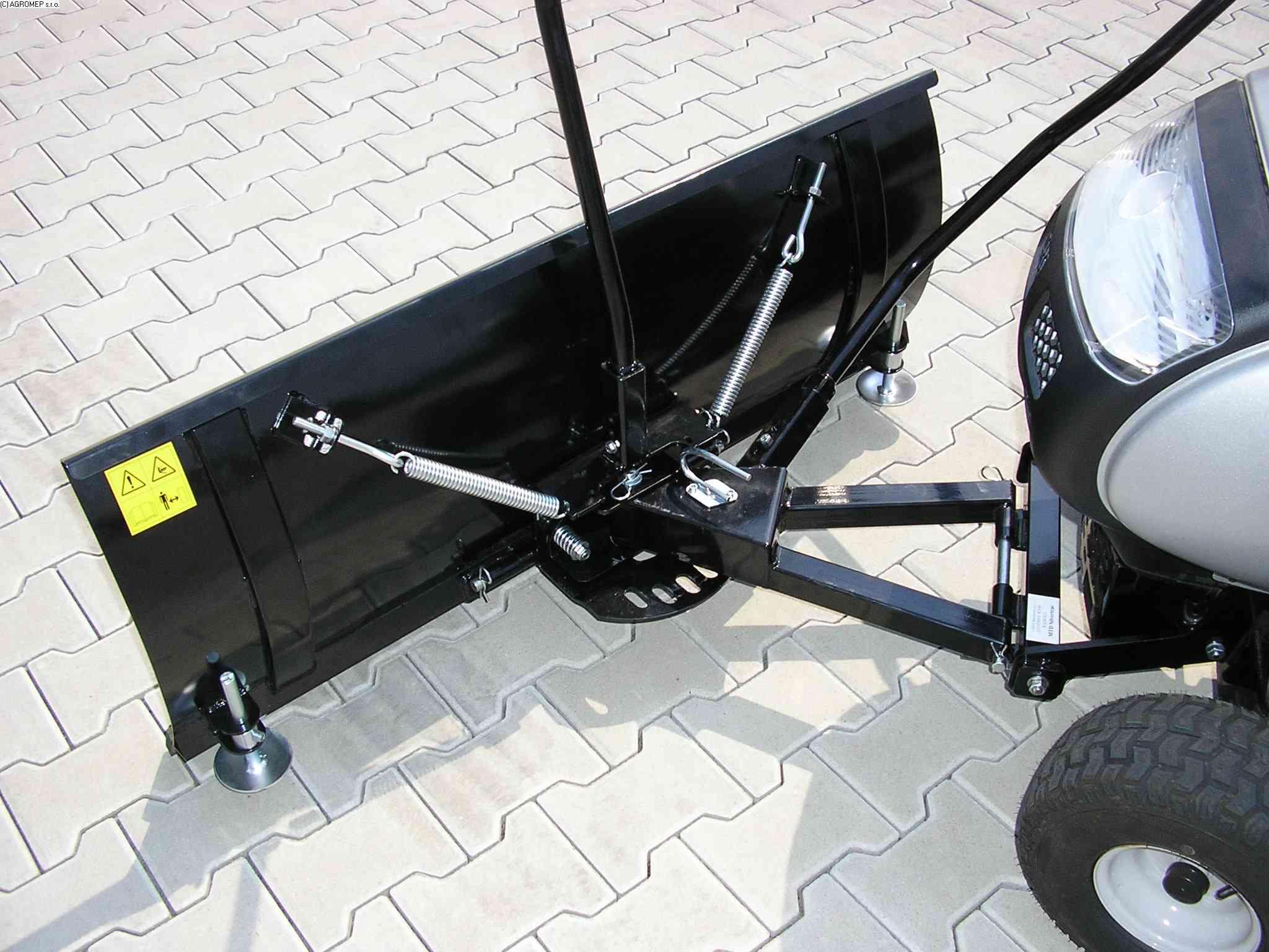 Radlice 1,18 m komfort pro čtyřkolky a travní traktory